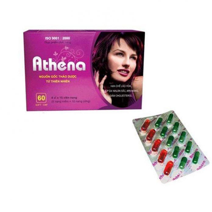 Hình ảnh sản phẩm chăm sóc da Athena
