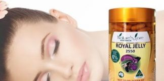 Sữa ong chúa Royal Jelly 2550mg– Nature's Care