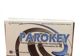 Thuốc điều trị bệnh trầm cảm - Parokey 20mg