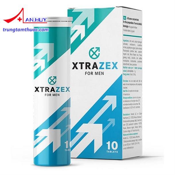 Xtrazex- viên sủi cường dương