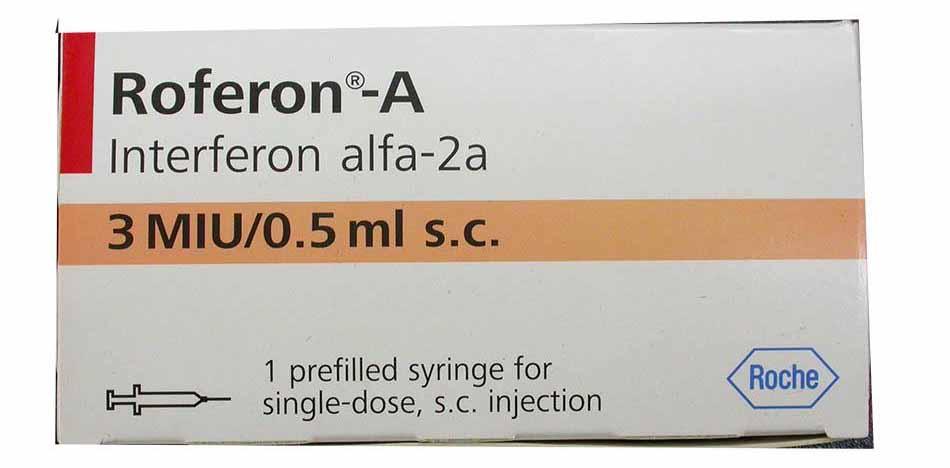 Thuốc có chứa Interferon alpha